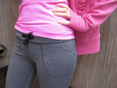 lululemon will yoga pant in heathered coal