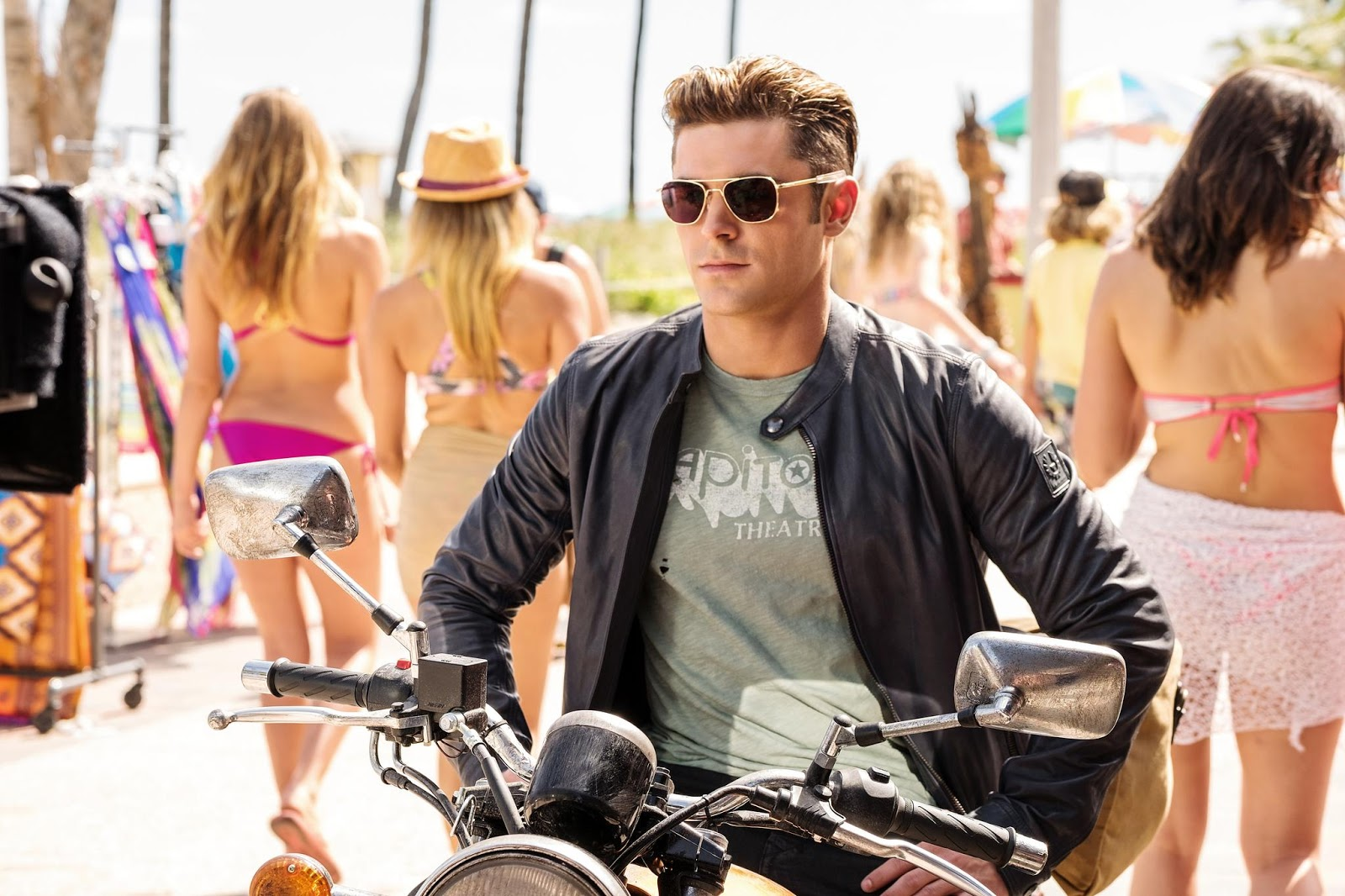 Efron plays Matt Brody, a bad boy Olympic swimmer and two time gold  medalist who arrives in Emerald Bay expecting a spot on Mitch's highly  competitive, ...
