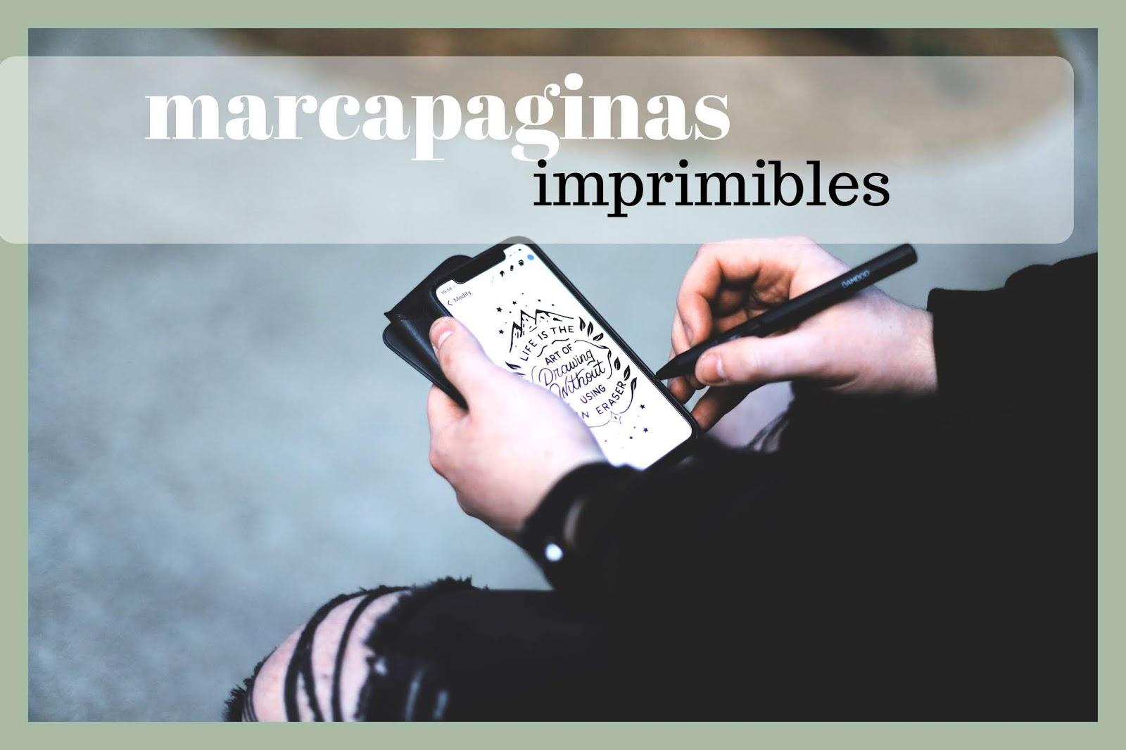 soymasromantica: libro de suspense y marcapaginas gratis
