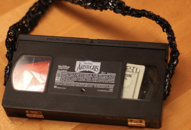10 creative and cool ways to reuse old vhs tapes