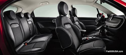 Fiat 500X Active Interior