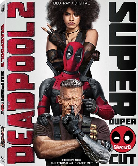 Deadpool 2 Super Duper Cut UNRATED (2018) 720p y 1080p BDRip mkv Dual Audio AC3 5.1 ch