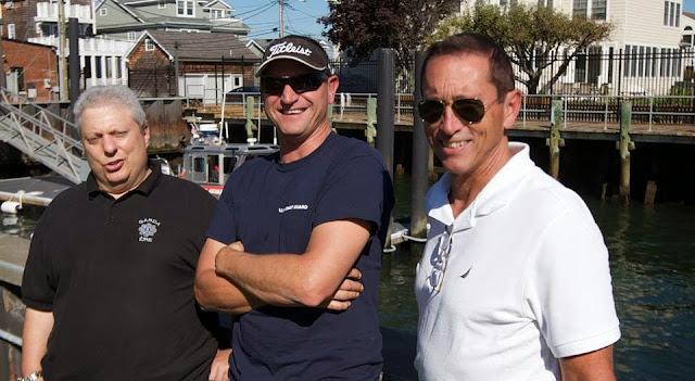Bob Daraio, CWO Chris Sparkman, and Jim Picciano 27SEP14