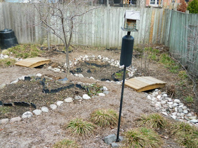 Riverdale Toronto spring garden clean up after by Paul Jung Gardening Services