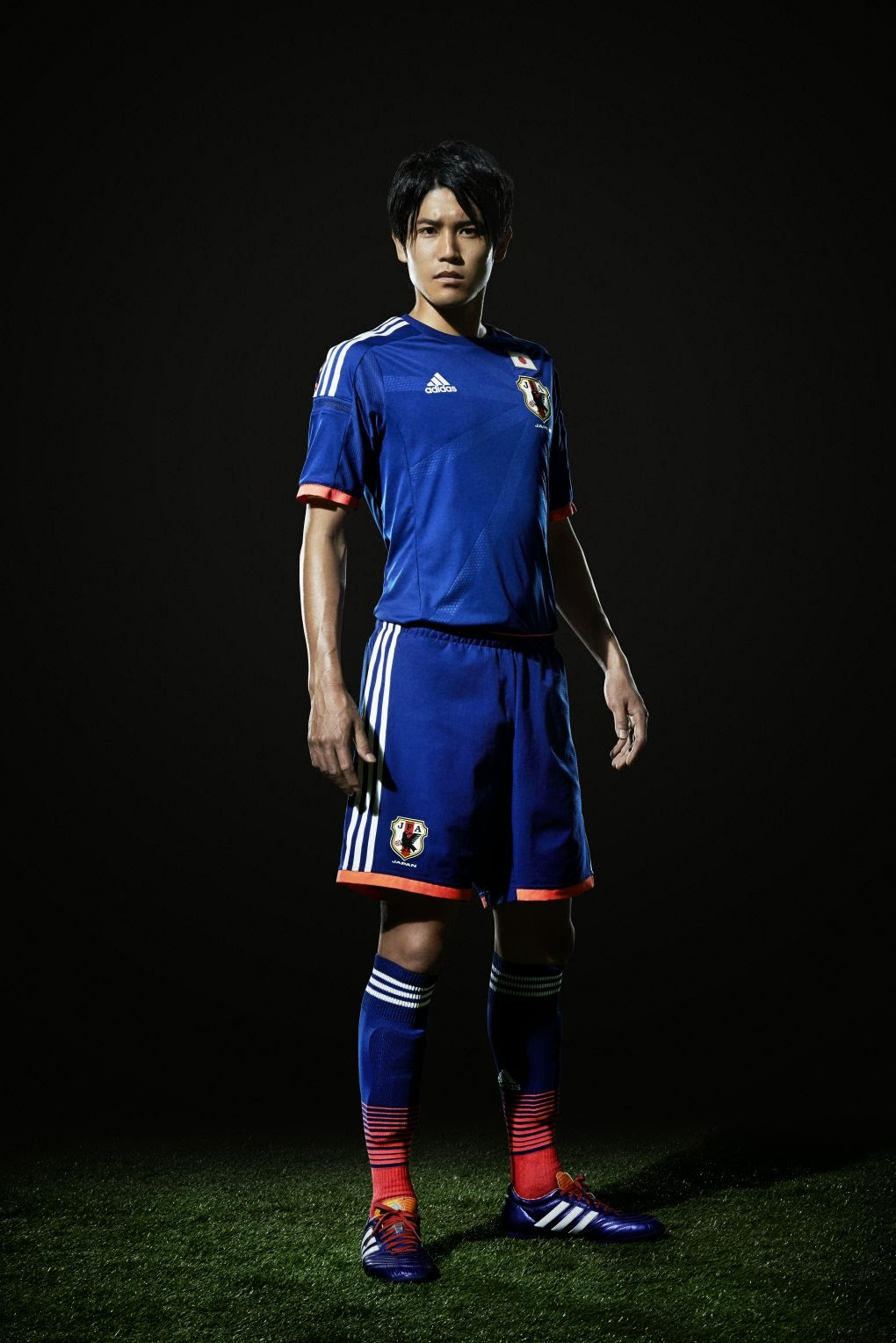 b6762e2ac Adidas launch the Japan kit for 2014 FIFA World Cup