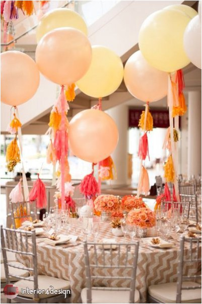 Wedding Decorations With Balloons And Flowers 14