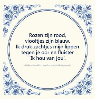 nederlandse teksten over liefde