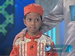 Ahsani Fadhli Ilahi umur 10 tahun