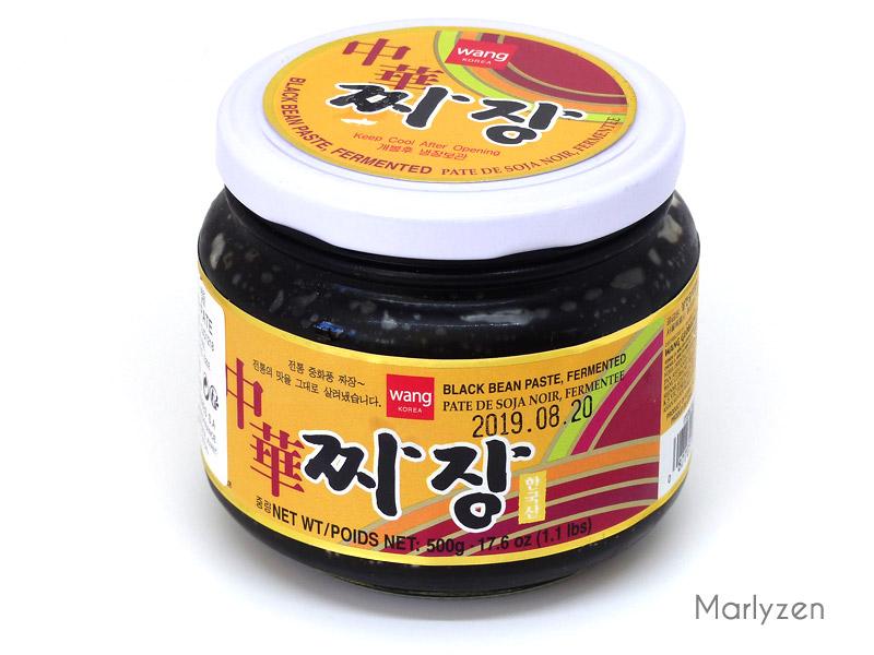 Sauce chunjang : pâte de soja fermentée coréenne