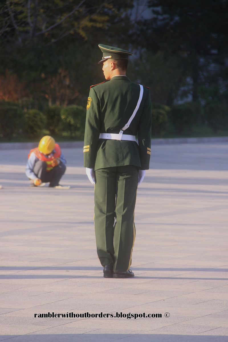 Guard, Tiananmen Square, Beijing, China
