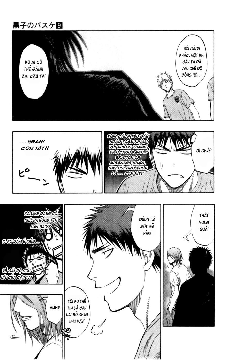 Kuroko No Basket chap 078 trang 9