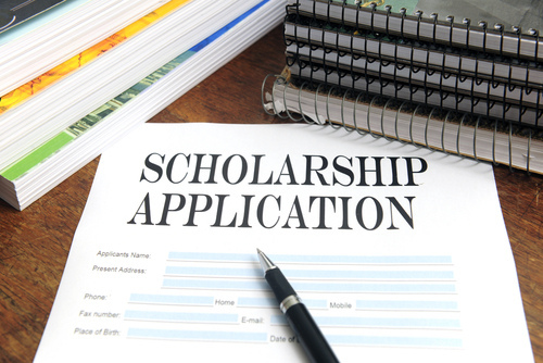 scholarship loan graphic