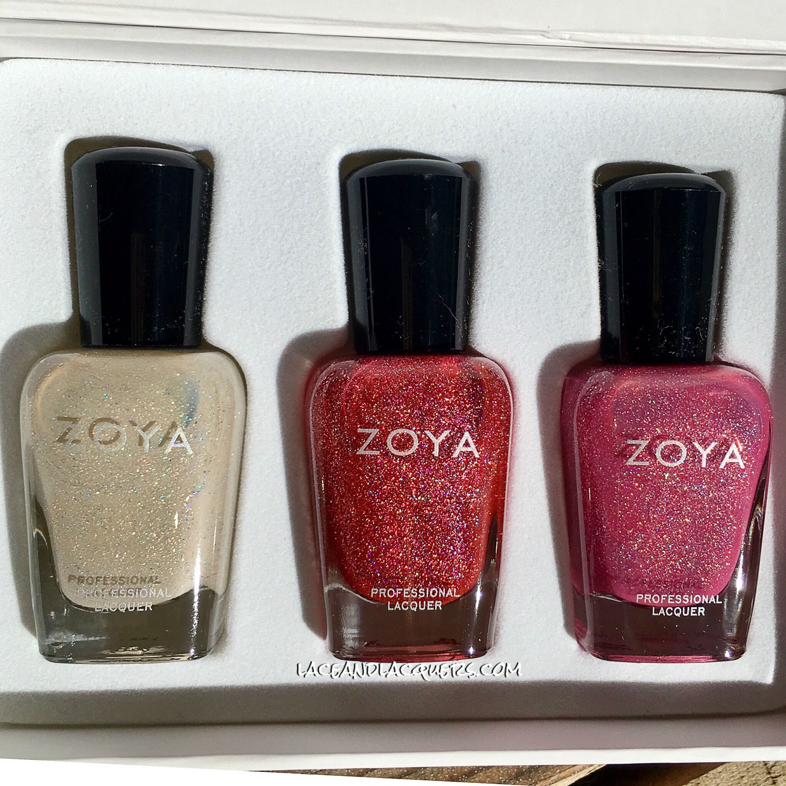 e39acc3f0618b Lace and Lacquers  ZOYA  Winter Holos Collection  Everly