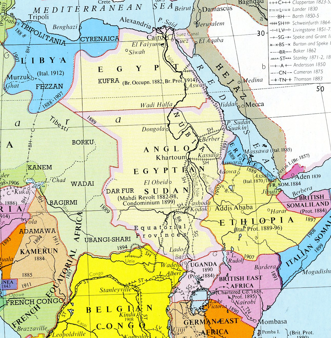Big Blue 1840-1940: Sudan