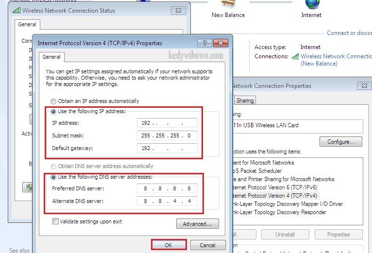 Cara Mengganti Alamat IP dan DNS Windows