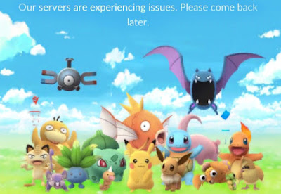 Cara Mengatasi Server Experienced Issue (Server Penuh) Pokemon Go