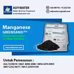 Ady Water Jual Manganese Greensand Plus