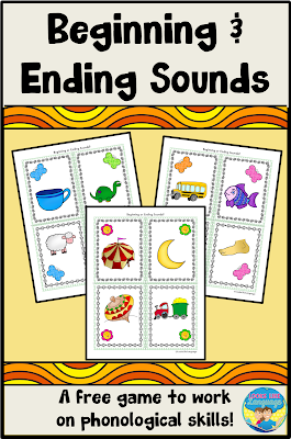 Listen for sounds in this fun printable game from Looks Like Language!