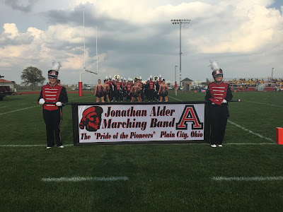 Fabric Banner Printed for the Jonathan Alder Marching Band | Banners.com