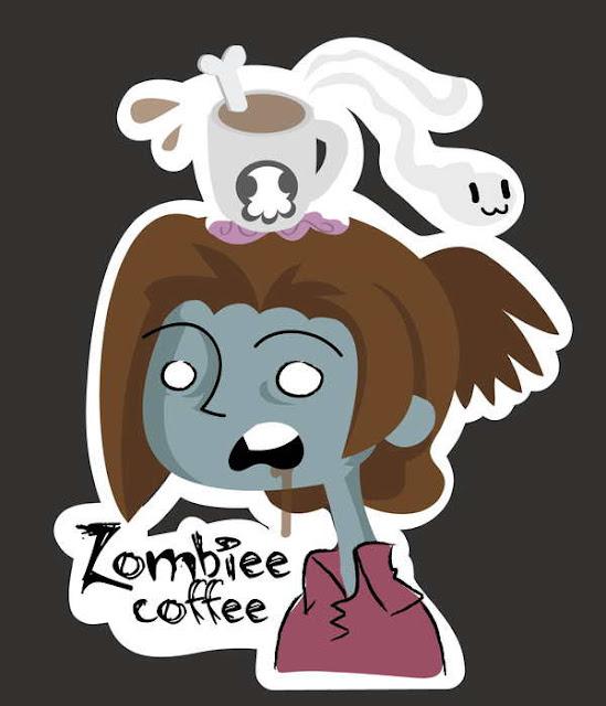 Un café servido por un zombie - Observatorio Z - Especial relatos sobre apocalipsis zombie para leer online