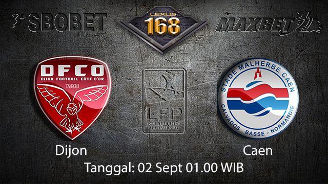 Prediksi Bola Jitu Dijon vs Caen 2 September 2018 ( French Ligue 1 )
