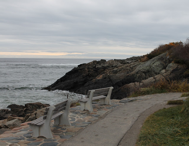 The Marginal Way is a three mile walk.