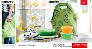 Go Fresh Lunch Set Tupperware
