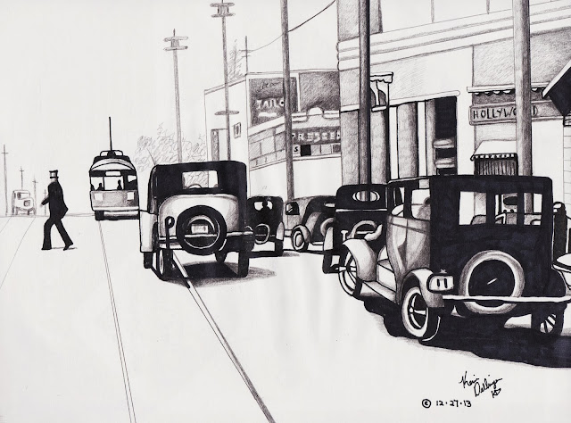 Hollywood 1920s by Kevin Dellinger