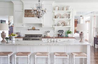 cucina bianca immagine