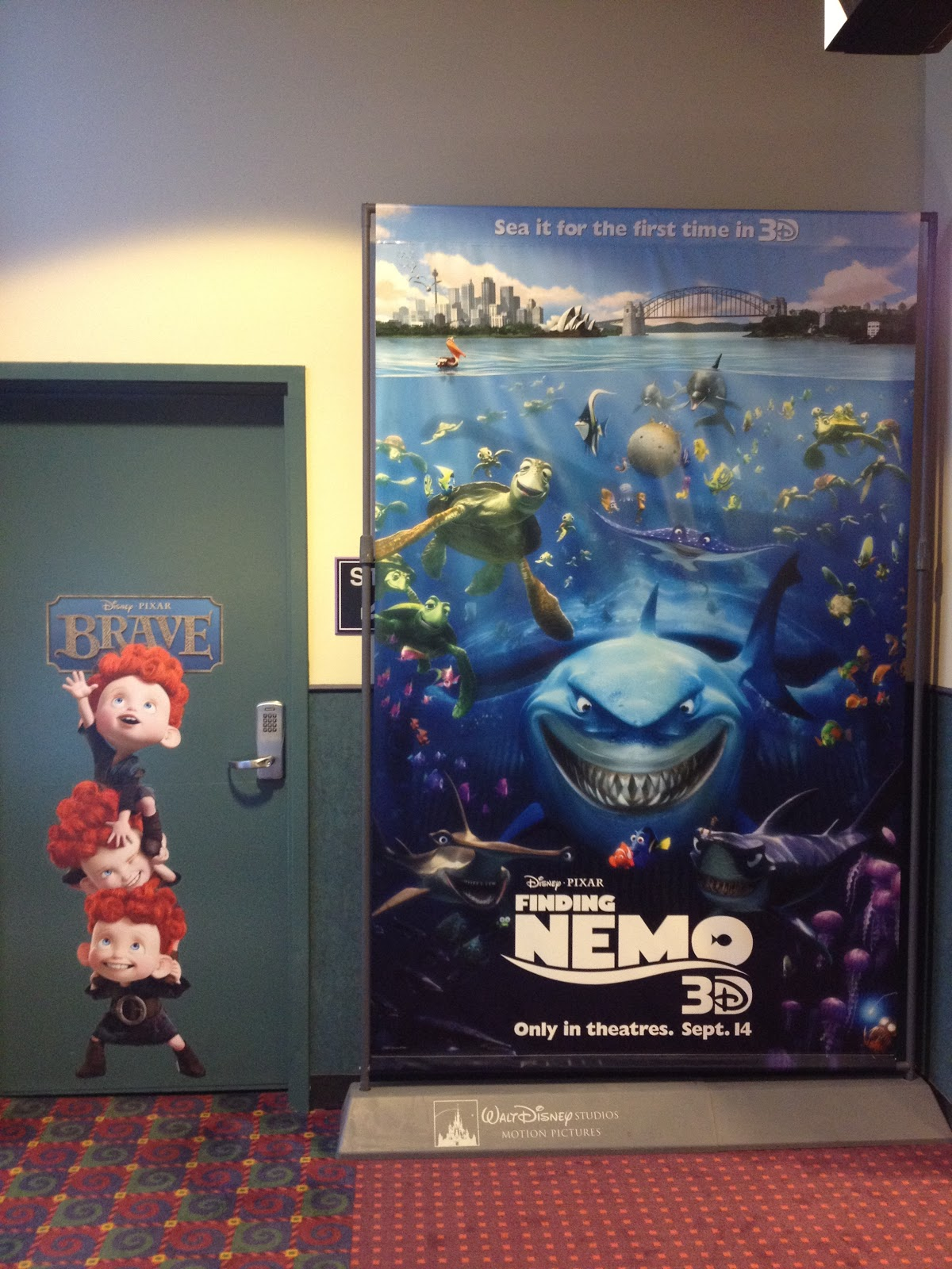 AMC Theatre Brave Promotion  Pixar Post