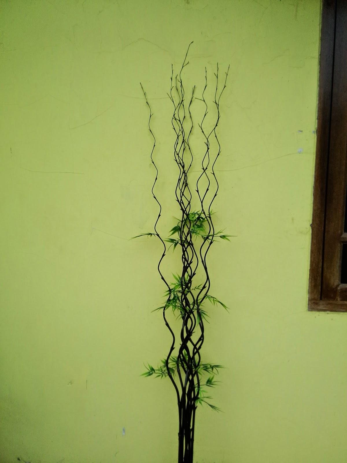 Waroeng Opera Indonesian Craft Vas Bunga Bambu