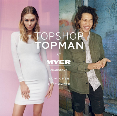 Topshop Topman opens at Myer Chadstone Dandenong Road shopping centre myer
