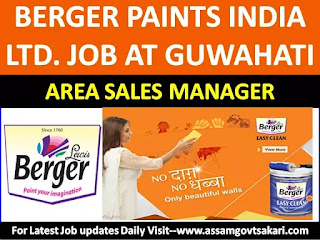 Berger Paints India Ltd Recruitment 2019