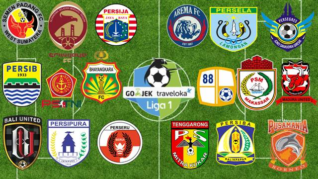 Klasemen Liga 1 Indonesia 2017