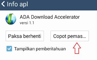 Cara menghapus aplikasi pada hp android