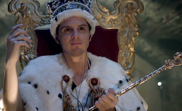 Andrew Scott as James Moriarty, BBC's Sherlock