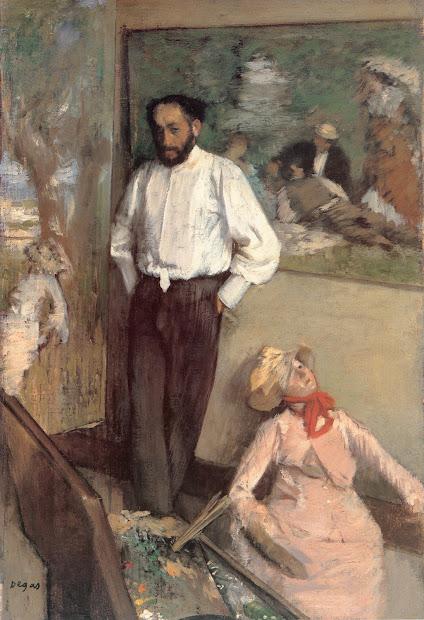 Edgar Degas Portraits Paintings