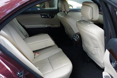 Interior Kabin Belakang Mercedes W221 S-Class