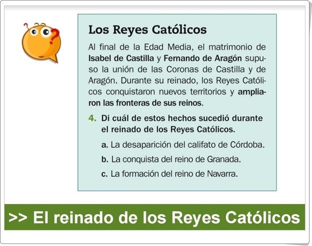 """""""El reinado de los Reyes Católicos"""" (Presentación de Historia de Primaria)"""