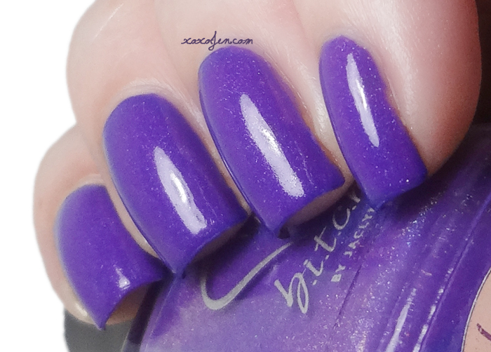 xoxoJen's swatch of b.i.t.c.h. by jaclyn Just a Fling