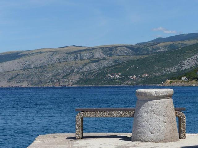 Kroatien Campingurlaub Rundreise Meerblick Fahrt