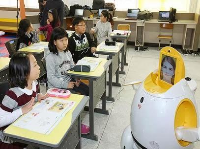 Professores robôs