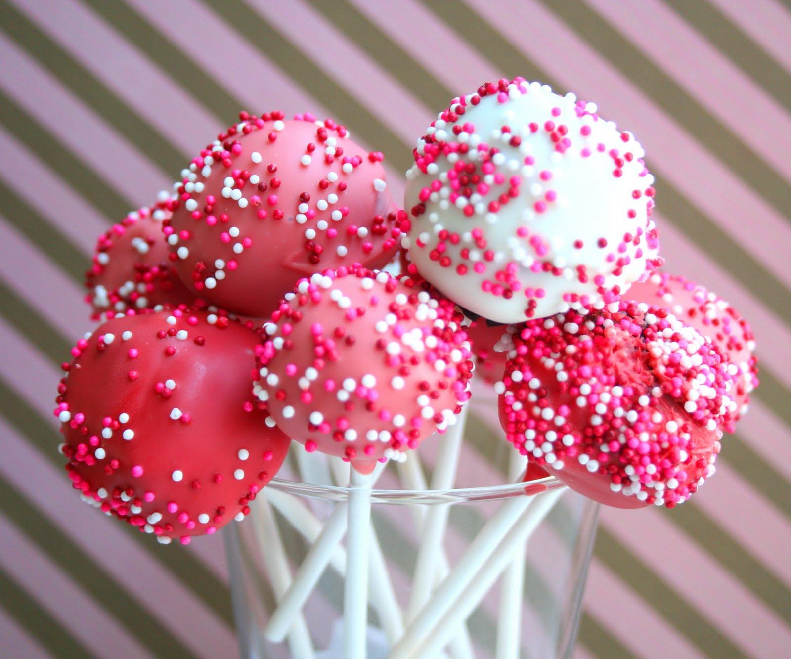 Cherry Bomb Cake Pops Amp Sweet Shop