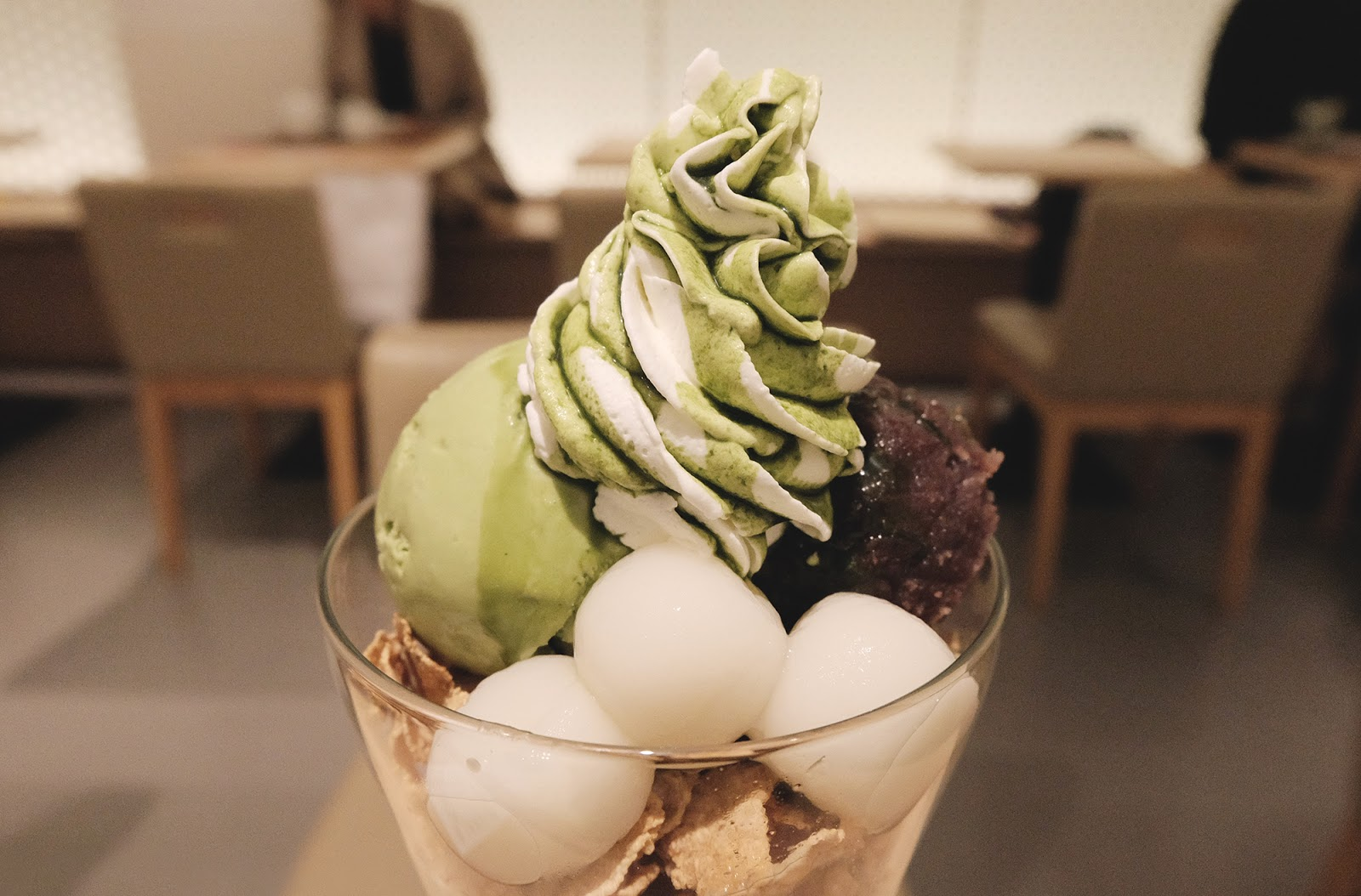 Matcha Parfait Gion Kyoto | www.bigdreamerblog.com