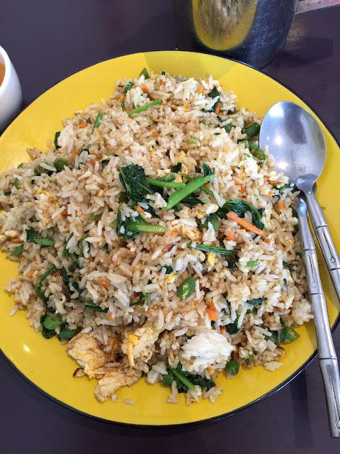 Vegie Mum, fried rice, vegetarian