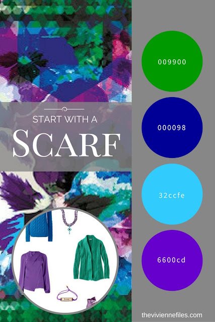Start with a GORGEOUS Scarf - The Hope Scarf by KathKath