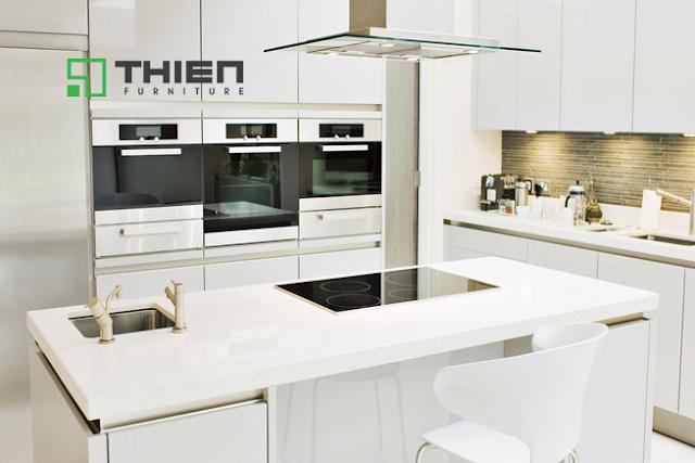 Những tủ bếp hiện đại pha phong cách cổ điển - www.TAICHINH2A.COM