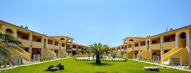 parco condominiale Appartamenti nuovi in vendita via Collacchie, Follonica - Grosseto Invest Immobiliare