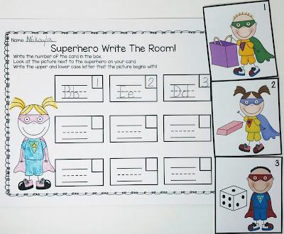 https://www.teacherspayteachers.com/Product/Superhero-Alphabet-Activities-for-Letters-and-Sounds-3417938