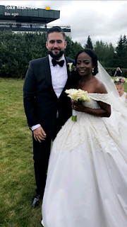 Photos from Toke Makinwa's sister's wedding in Oslo